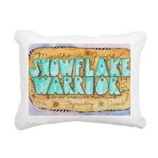 SnowflakeWarrior Rectangular Canvas Pillow