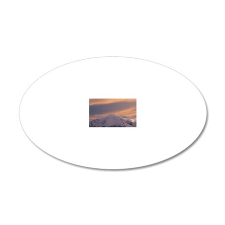 Peak Sunsets 9-2-11 (64) 20x12 Oval Wall Decal