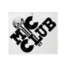 mic club Throw Blanket