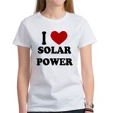 I Heart Solar Power Tee