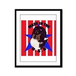 Sheltie - Made in the USA Framed Panel Print