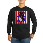 Sheltie - Made in the USA Long Sleeve Dark T-Shirt