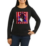 Sheltie - Made in the USA Women's Long Sleeve Dark