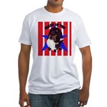 Sheltie - Made in the USA Fitted T-Shirt