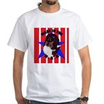 Sheltie - Made in the USA White T-Shirt