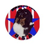 Sheltie - Made in the USA Ornament (Round)