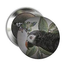 """parrotgrey 2.25"""" Button"""