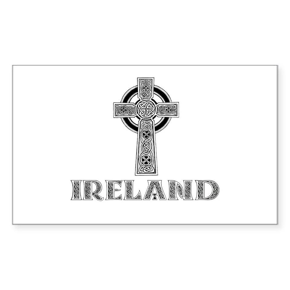 Gaelic Cross Stickers  Gaelic Cross Bumper Stickers –