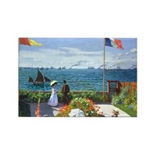 Coin Monet 2 Rectangle Magnet