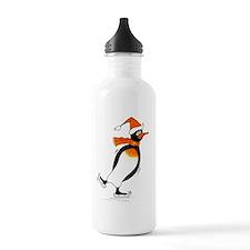 Penguin Skater Water Bottle