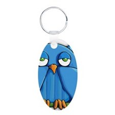 Journal Aqua Owl Keychains