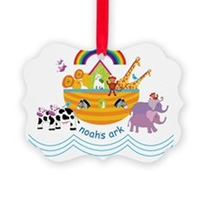 Noahs Ark Animals Ornament