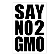 SayNo2GMO Postcards (Package of 8)