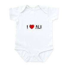 I * Ali Infant Bodysuit
