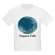 Brink of Niagara Falls Kids T-Shirt