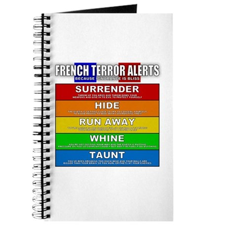French Terror Alerts Journal