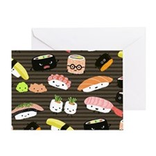 sushimousepadcp Greeting Card