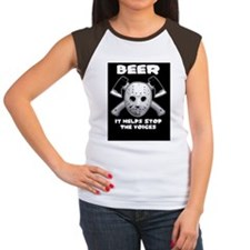beer stops the voices t Tee