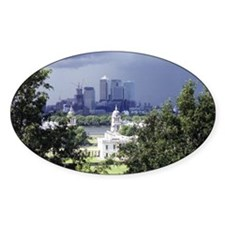 Royal Observatory, Greenwich Oval Decal