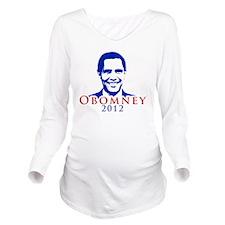 Obomney Long Sleeve Maternity T-Shirt