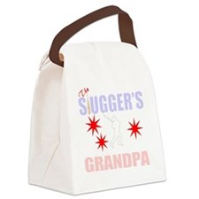 Grandpa of slugger Canvas Lunch Bag