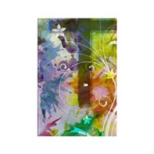 Colorful Cross itouch2 case temp Rectangle Magnet