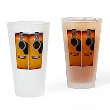FlipFlops-Guitar Drinking Glass