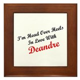 In Love with Deandre Framed Tile