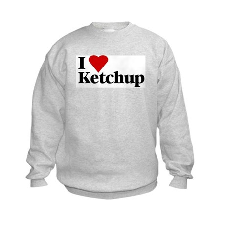 I love ketchup Kids Sweatshirt