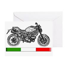 2011-Ducati-Monster796c-4 Greeting Card