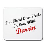 In Love with Darrin Mousepad