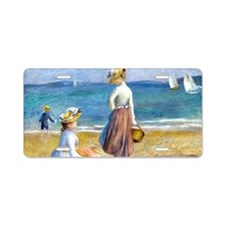 Bag Renoir Beach Aluminum License Plate