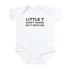 Little T Didn't Share Infant Bodysuit