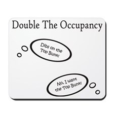 DoubleTheOccupancy Mousepad