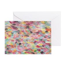 Pastel Visions6x4_pcard Greeting Card
