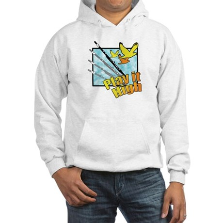 "Flute ""Play it High"" Hooded Sweatshirt"