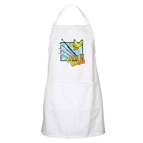 "Flute ""Play it High"" BBQ Apron"