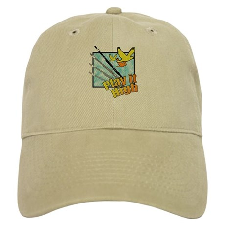 "Flute ""Play it High"" Cap"