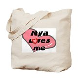 nya loves me Tote Bag