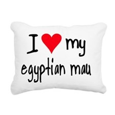 iheartegyptianmau Rectangular Canvas Pillow