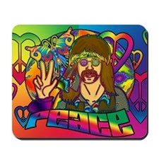 PSYCHEDELIC-PEACE-banner Mousepad