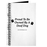 Proud Deaf Dog Owner Journal