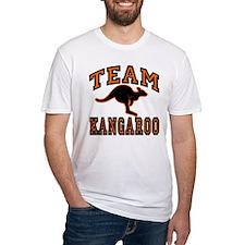 Team Kangaroo Orange Shirt