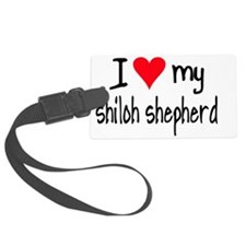 I LOVE MY Shiloh Shepherd Luggage Tag