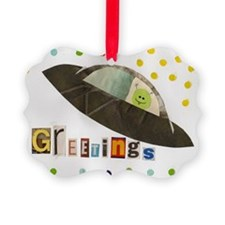 greetings Ornament