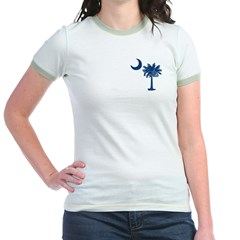 Palmetto Flag Jr. Ringer T-Shirt