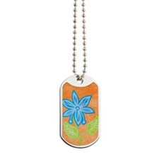 nexusBlueFlower Dog Tags
