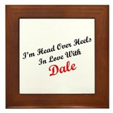 In Love with Dale Framed Tile
