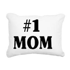 NUMBER1MOMSHIRT.gif Rectangular Canvas Pillow