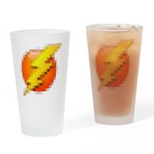 lightning Drinking Glass